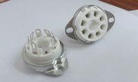 Wholesale 8pin Ceramic vacuum tube socket top mount octal valve base