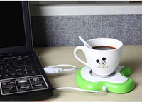 Wholesale usb coffee warmer USB warmer Plate Apple insulation plate For home design computer workers use