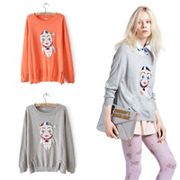 Wholesale 2013 Fashion Sequins Pullover Women s Sweater With Paillette Character Jumper W079