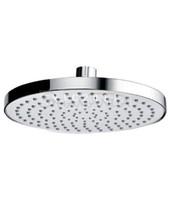 "Disposable Bathroom Faucet Accessories Guangdong China (Mainland) Free shipping Bathroom 8"" Rain Overhead Shower Heads ABS Plastic Thicken Chrome Finish-wholesale -21013 [5 years warranty]"