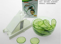 Wholesale New mm Food Beauty Cabbage Cucumber Steel Slicer Peeler Beauty facial mask slicer tape mirror Skin Care