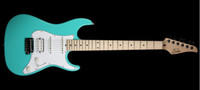 6 Strings seafoam - best Suhr Pro Series Model S2 Electric Guitar HSS Alder Body Seafoam Green