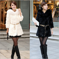 Wholesale Imitation fur coat Rabbit fur coat The fox fur overcoat
