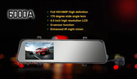 1 DIN Special In-Dash DVD Player 3.5 Inch car dvd HD 1080P 4.3'Car Rear View Mirror Monitor DVR 170 Degree Wide Angle Rotation Camera Reversing Backup Camera Motion Detection GPS