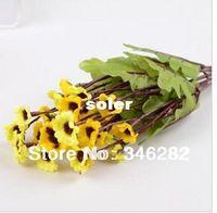 Wholesale chrysanthemum flowers dancing Kikuno silk flower decoration table flower for home decor