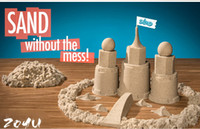 Wholesale EMS Kinetic play Sand Magic Sand Sand in Motion sand without Mess educational toys Play Sand