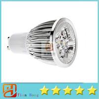 10pcs lot Hot selling GU10 5X3W 15W Spotlight Led Light 110V...