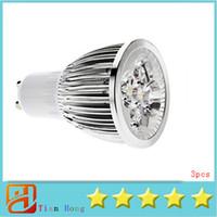 Spotlight LED 15W 3x Hot selling GU10 5X3W 15W Spotlight Led Light 110V-240V Warm White Led Lamp Led Bulbs 5-CREE LedS Good quality free ship