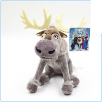 Wholesale 5pcs inch Frozen Reindeer Sven Plush new frozen Toys Doll Frozen stuffed Kristoff friend Sven toy for kids