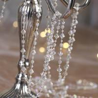 99 Feet beaded curtains - 99 Feet Iridescent Gemstone Crystal Beads Strand Garland Hanging Gem Centerpiece Wedding Holiday Decor Tree or Beaded Curtain