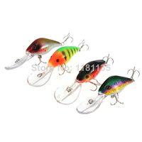 Wholesale High Quality D Eyes Crankbait Fishing Lure Tackle VCM Hook Swimbait CM Baits Durability