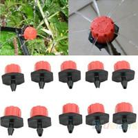 Wholesale 10pcs Garden Supplies Irrigation Misting Micro Flow Watering Kits Dripper Drip Head Hose