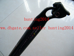 Carbon Fiber seatpost carbon bicycle seatpost carbon bike seat post parts 27.2 30.9 31.6 34.9*400mm+free shipping