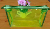 wholesale pvc cosmetic bags - Cosmetic Bags Accessories Luggages Cosmetic bag factory outlet detonation candy color crystal jelly bag color transparent PVC cosmetic bag