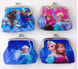 3D Cartoon Coin Purse with Iron ButtonBag Wallet Purses Children Child Gifts For Girls