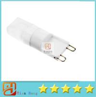 100pcs Hight quality G9 110V 220V G9 Lamp Crystal Lamp 3W G9...