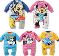Wholesale 2014 Newborn Baby Rompers Baby Clothing Roupas De Bebe Baby Clothes Mths Freeshipping