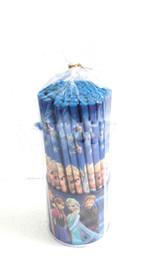 Hotsale! 72 Pcs lot Frozen pencils Cartoon pencils Lovely pencil Gift Free shipping
