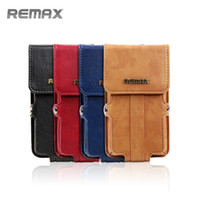 Wholesale Remax Universal Mobilephone Bag Case Luxury Leather General Shoulder Bag Waist Pack Colorful Popular Hotsale Youth Boy Girl Backpack Package