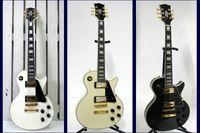 Wholesale Custom Shop ebony fingerboard electric guitar gold hardware chrome Chinese China guitar Guitar Factory
