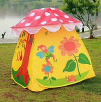 Tents Animes & Cartoons PVC Cheap Lovely Children Kids Tent Eco-Friendly Colorful Play House Tents Outdoor Free Shipping
