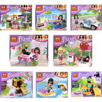 Wholesale High Quality Girl Friends Mini Figure Building Blocks Girls toy Without box
