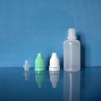 Plastic   Lot 100 Pcs 1 OZ 30 ML Plastic Dropper Bottles Tamper proof evidence NEW LDPE Dispense Store Liquids EYE DROPS E cig Vapor Juice Vape OIL