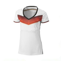 Wholesale 2014 World Cup German high quality soccer T shirts for Women