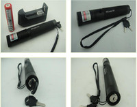 Wholesale high power nm high powered green laser pointers adjustable focus green burning laser torch