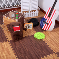 floor pads - MN Baby Play Mat Wood floor mat foam puzzle mats home living room bedroom pad Specification Family Carpet baby toys
