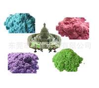 Wholesale EMS Kinetic play Sand Magic Sand sand without Mess educational toys Play Sand colors g bag