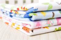 Wholesale Baby nappy changing pad breathable soft flannel waterproof sheet baby diaper pad towel easily wash and quickly dry changing mat
