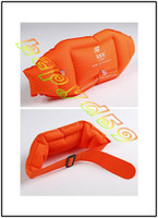 Wholesale free ship thicken kid adult Swimming float belt beach swimming training inflatable belt swim back float swimming rings equipment