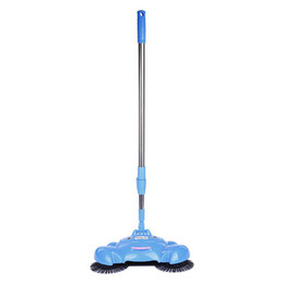 Wholesale 16pcs Nwe Arrive Hand push sweeper broom carpet amp floor cleaners hand propelled sweeper besom Hand Push Type