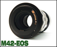 Wholesale EMOLUX New High quality M42 EOS chip Lens To Ring Filter Adapter for Canon