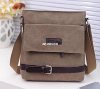 Wholesale 2013 fashion handbag Man bag water wash canvas cross body male shoulder bag man