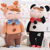 8-11 Years brand toys - 34CM PC Brand Metoo Stuffed Plush Toy Animal For Baby Birthday Gifts Metoo Fashion Doll Drop