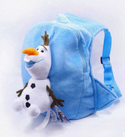 Hot Sale Children Double Shoulder School Bags Frozen Lovely ...