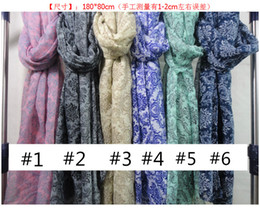 Wholesale 2014 New Viscose Women Apparel Accessories Floral Scarf Shawl Wrap Muslim Hijab Scarve