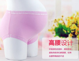 Wholesale High Quality Maternity Pregnant High Waist Underwear Modal comfortable pregnant Underwear color mixed