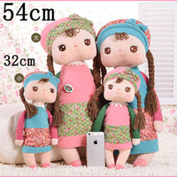 Girls brand toys - 54CM PC Brand Metoo Plush Animal Toy Dolls For Baby Birthday Gifts Metoo Fashion Doll Drop