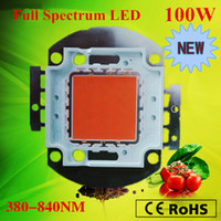 Wholesale 10pcs Bridgelux chip Indoor DIY growlight x3W full spectrum nm led plant grow light chip growth and bloom