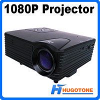 lcd projector hd - Mini H80 LED Projector Full HD P LCD Projector Multimedia Lumens Home Theater LCD Game AV VGA SD USB HDMI Interface