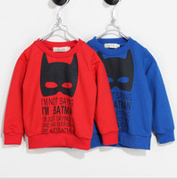 cotton batting - children clothes fall autumn cartoon boy girl cotton bat kids clothing T shirt sweater dandys