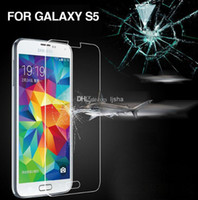 Wholesale Gorilla Tempered Glass LCD Screen Film Shatter Scratch Proof PROTECTOR Screen Guard FOR Samsung Galaxy S3 S4 S5 Mini I9600 Note Note