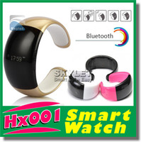 Wholesale Smart Watch New Bluetooth Watch Mobile Phone Bracelet Watch Wristwatches Caller ID Digital Time Vibrating Alert For Cell Phone