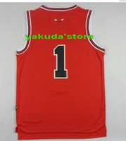 Wholesale Hot Sellling Derrick Rose apparel shirts Basketball Jersey Customized Derrick Rose Jersey Derrick Rose Jersey cheap Cheap Basketball Top