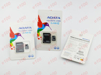 Wholesale 64GB ADATA Micro SD TF Memory Card Class gb Flash Micro SD SDHC Cards With Cheap Retail Box For iPhone samsung sony K