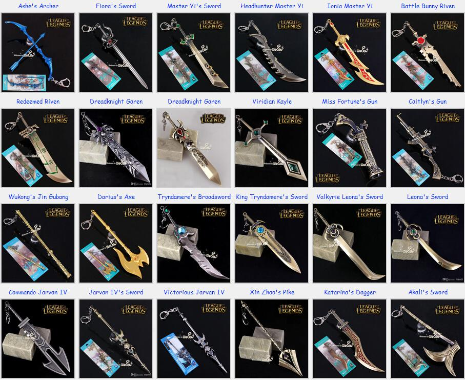 Anime Final Fantasy Sword Metal Weapons Toys With Box Military ...