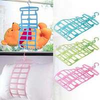 Wholesale High Quality Pillow Drying Rack Hanger Holder Stuffed Toy Bear Airer Drying Plush Toy Shelf Pillow Rack
